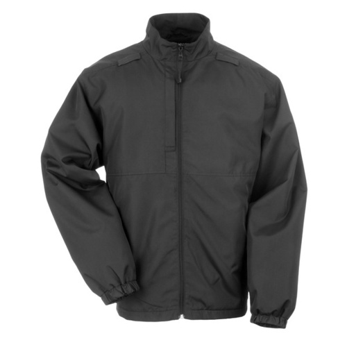 5.11 Tactical Lined Packable Jacket - Black - 2X Large