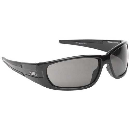 5.11 Tactical Climb Eyewear Designed by Wiley X - Black