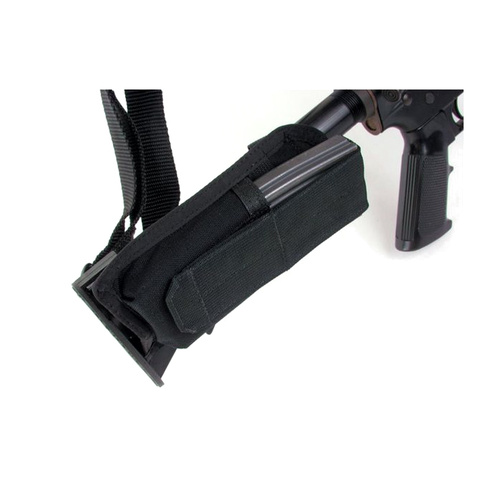 Blackhawk M4 Collapsible Stock Mag Pouch - Black
