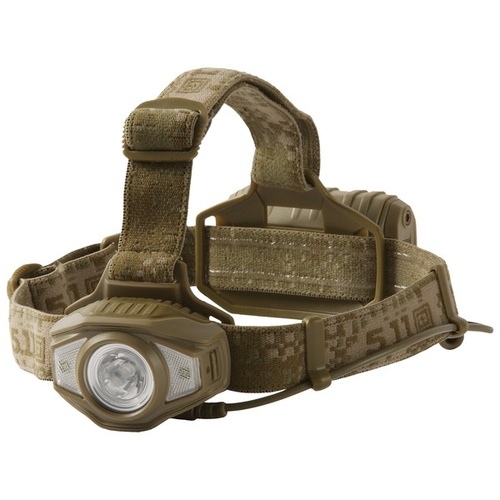 5.11 Tactical S+R H3 Headlamp - Sandstone