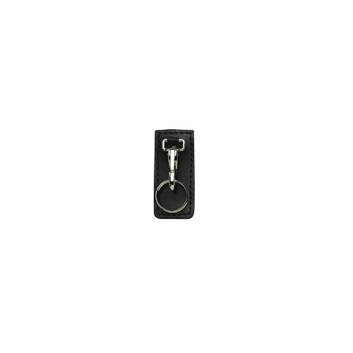 Boston Leather - HI RIDE KEY HLDR BLK PL BRASS