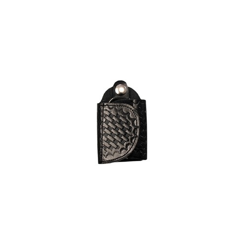 Boston Leather - SILENT KEY HOLDER, BW