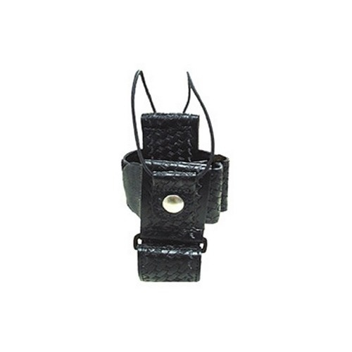 Boston Leather - RADIO HOLDER WITH D  RINGS FO
