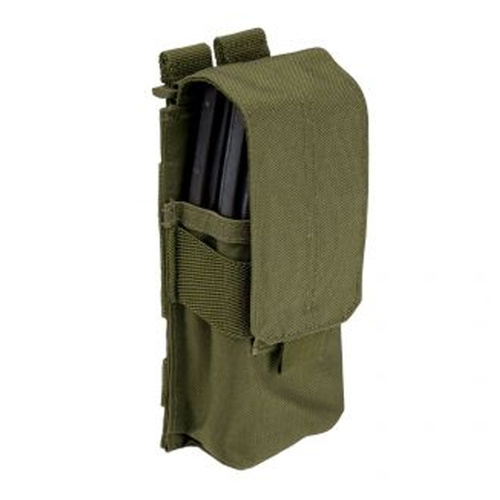5.11 Tactical Stacked Single Mag Nylon with Cover - Flat Dark Earth