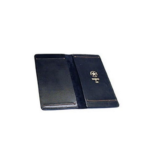 Boston Leather - DOUBLE CITATION BOOK HLDR