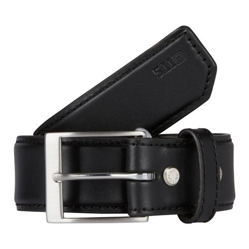 5.11 Tactical Plain Casual Belt 1.5in Wide - Black - Extra Large