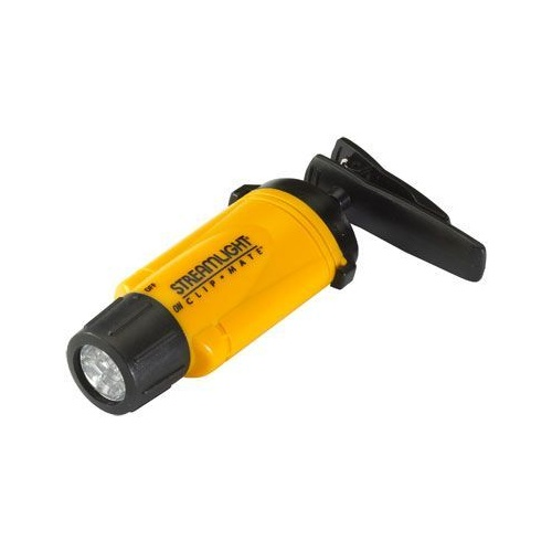 STREAMLIGHT - CLIPMATE- Black- Green