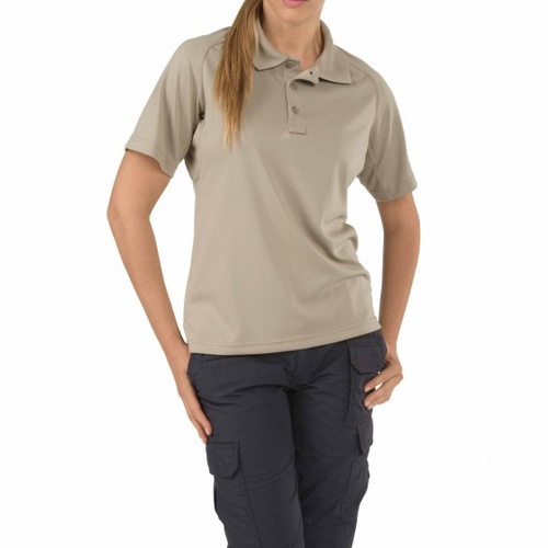 5.11 Tactical WoMen's Performance Polo - Silver Tan - Large