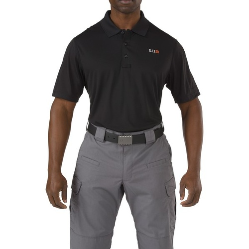 5.11 Tactical Pinnacle Polo - Black - 2X Large