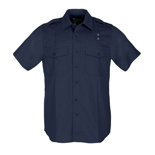 5.11 Tactical Taclite PDU Class A Short Sleeve Shirt - Midnight Navy - 2X Large
