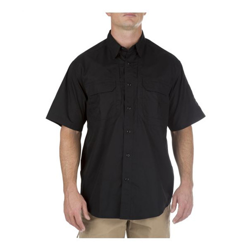 5.11 Tactical Taclite Pro Short Sleeve Shirt - Black - 2X Large