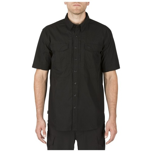 5.11 Tactical Stryke Short Sleeve Shirt - Black - Large