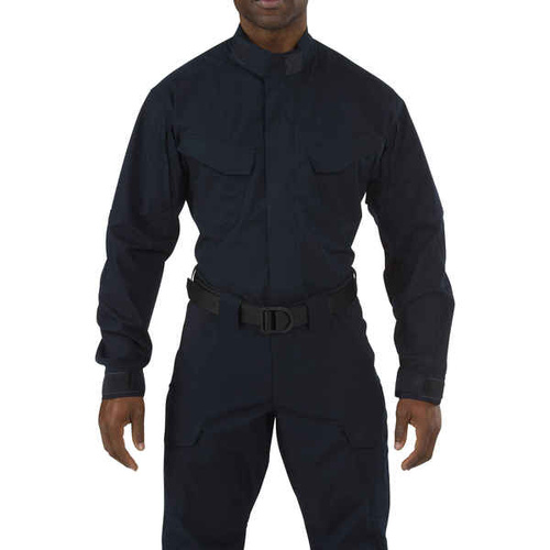 5.11 Tactical Stryke TDU Long Sleeve Shirt - Dark Navy - 2X Large