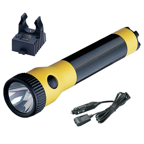 Streamlight PolyStinger with 12V DC - Yellow