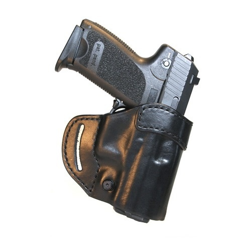 Blackhawk Leather Compact Askins Holster - Black - Smith & Wesson MP All Models - Right
