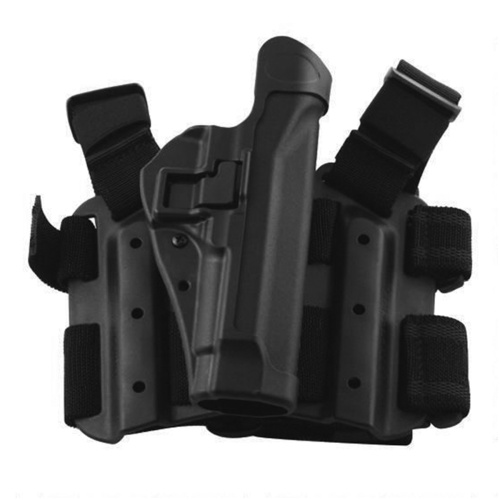BlackHawk SERPA Level 2 Tactical Holster - Black - Glock17/19/20/21/22/23/31/32 - Left