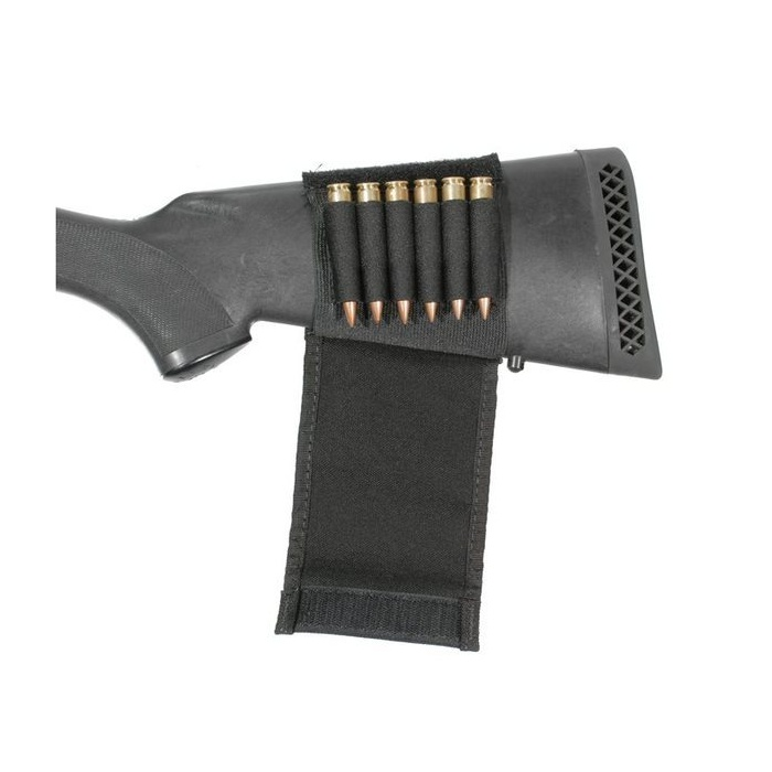 BlackHawk Buttock Shell Holder with Flap - Rifle (6 ammo loops)