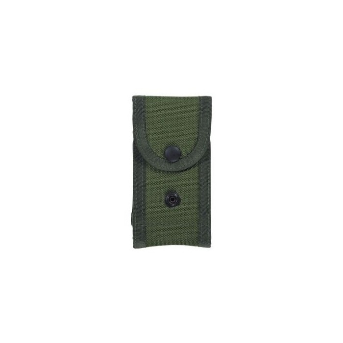 Bianchi M1025 Military Magazin Pouch Holds Two Magazines Trim&Compact Quick Lock Belt Fastener Attaches Securely To Web Belt Fits Up To 2.25Inch Belt