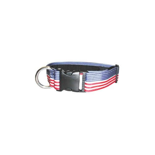Boston Leather - PATRIOTIC NYLON COLLAR