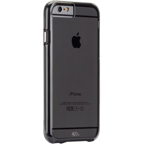 Case-Mate Naked Tough Case suits iPhone 6/6S - Smoke/Black