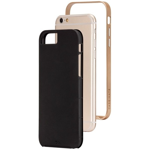 Case-Mate Slim Tough Case suits iPhone 6/6S - Black/Gold