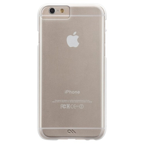 Case-Mate Barely There Case suits iPhone 6 Plus/6S Plus - Clear