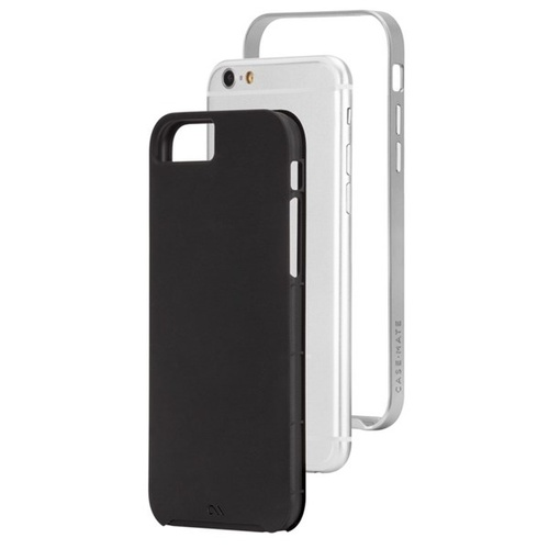 Case-Mate Slim Tough Case suits iPhone 6 Plus/6S Plus - Black/Silver