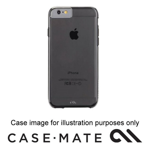 Case-mate Naked Tough Case Suits iphone 7 - Smoke/Black Bumper