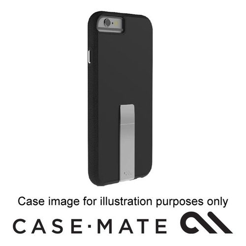 Case-mate Tough Stand Case Suits iphone 7 - Black/Grey