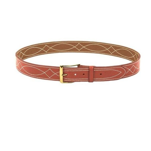 Desantis - 1 1/2  Fancy Stitch Lined Belt