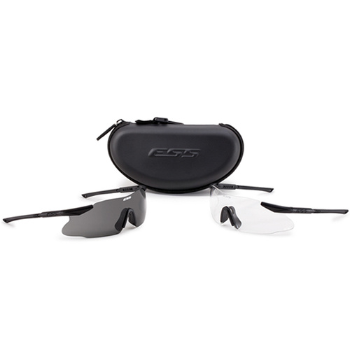 Eye Safety Systems - Ice 2X - Clear/Smoke Gray