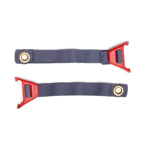 Eye Safety Systems - FirePro EX Goggle Strap Two-piece strap w/Red Speed-Clips