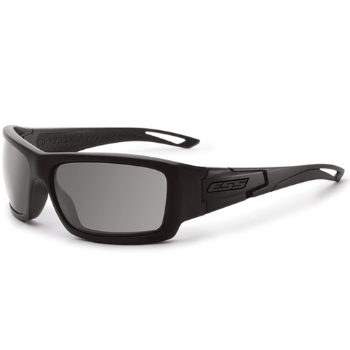 Eye Safety Systems Credence - Black Subdued Logo w/Smoke Gray Lenses