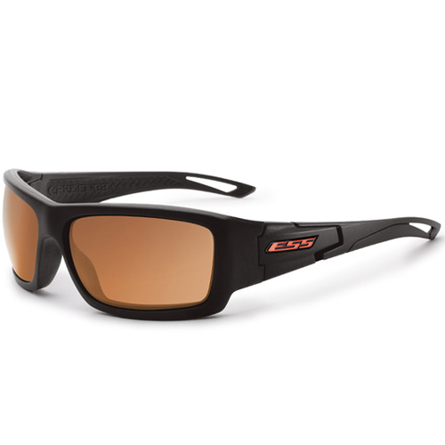 Eye Safety Systems - Credence - Black - Mirrored Copper Lens