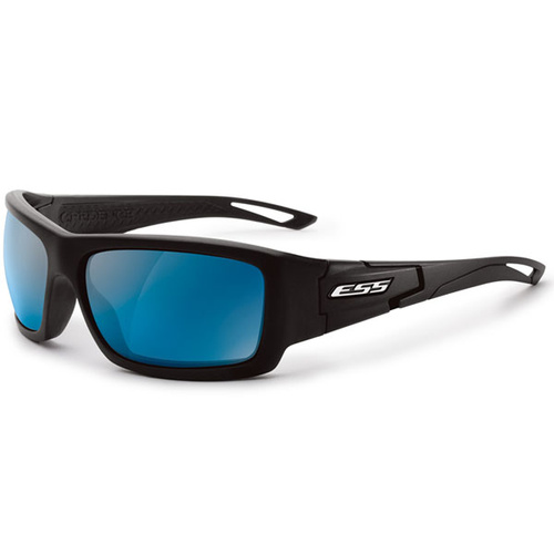 Eye Safety Systems - Credence - Black - Mirrored Blue Lens