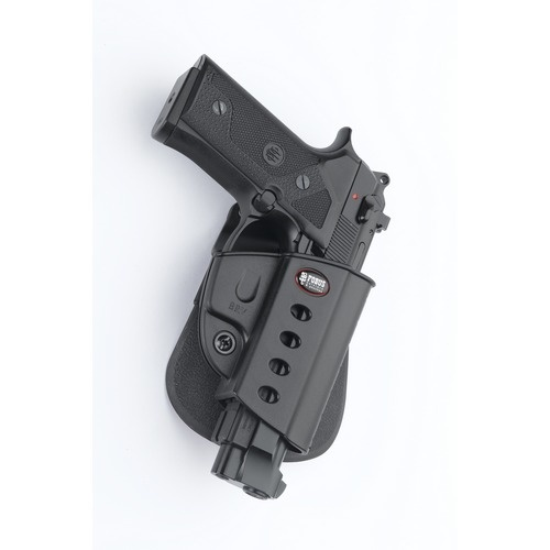 Fobus Roto-Paddle Holster - Beretta Vertec, Taurus 92/99 with Rail - Right Hand