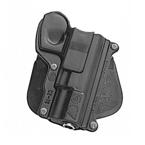 Fobus Standard Paddle Holster - CZ75 CZ-75/ 75BD/ 85/ Cadet .22/ 75D compact 9mm - Right Hand