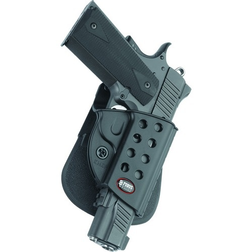 Fobus Rotating Paddle Holder - Colt 1911 w/rail - Right