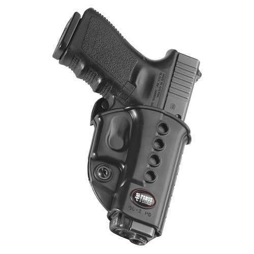 Fobus Rotating 2-1/4 Belt Holder - Beretta Cheetah 80-89 series (with round trigger guard only) - Right