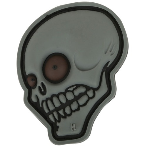 Maxpedition Look Skull 2.22in x 2.7in - Stealth