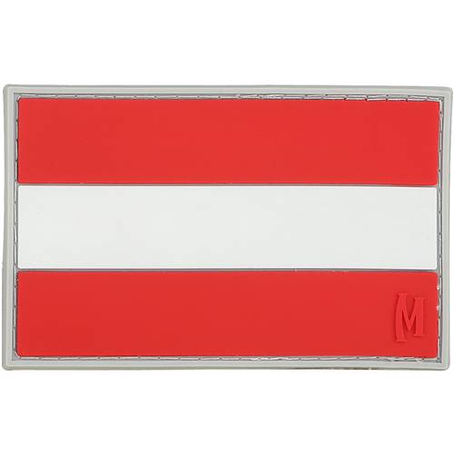 Maxpedition Austria Flag Patch - Full Color