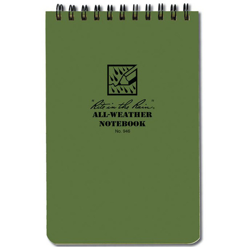 Maxpedition Pocket Notebook (4x6) - OD Green
