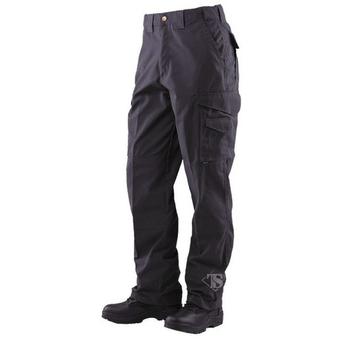 Tru-Spec Men's 24-7 Series Men's Tactical 65/35 Polyester/Cotton Rip-Stop Pants - Black - 34 x 32