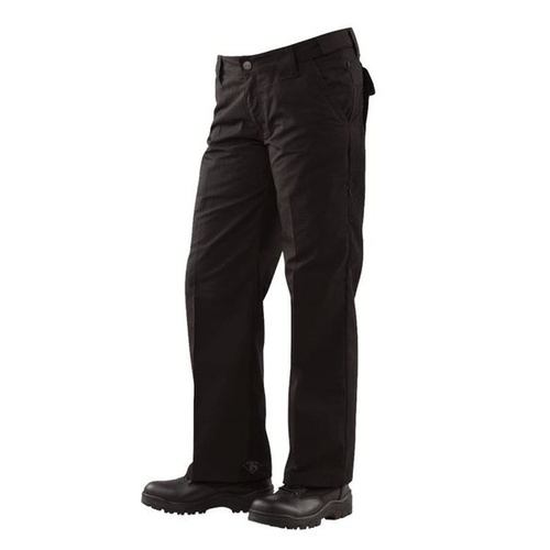 Tru-Spec 24-7 Series Ladies Classic Pants 65/35 Polyester/Cotton Rip-Stop - Black - Size 16