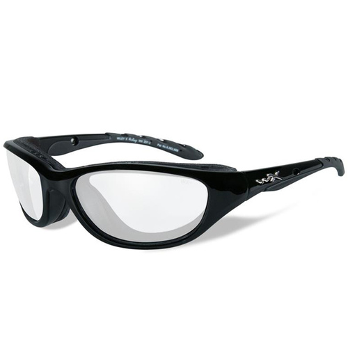 Wiley X Airrage Goggles - Gloss Black Frame - Clear Lens
