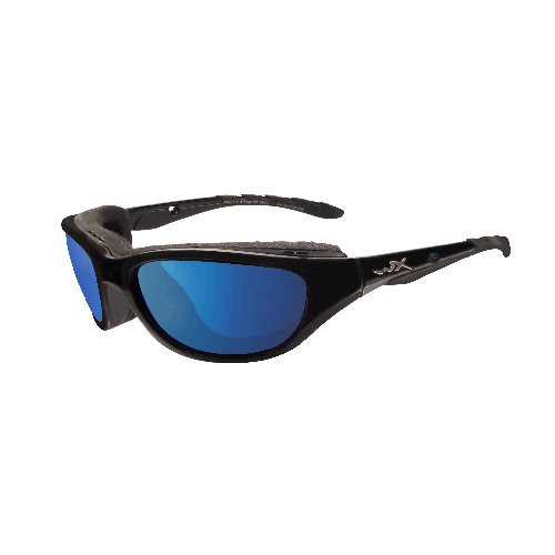 Wiley X Airrage Goggles - Polarized Blue Mirror