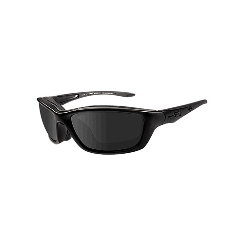 Wiley X Brick Glasses - LA Light Adjusting SmokeGrey Lens