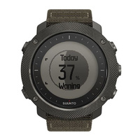 Suunto Traverse Alpha Foliage Sapphire Green Nylon Strap - Black