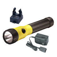 Streamlight PolyStinger LED with 120V AC - Yellow (NiCD)