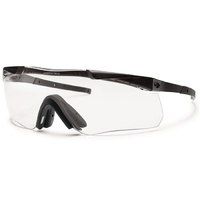Smith Optics Aegis Echo Ii - Clear, Gray Lens - Black Frame